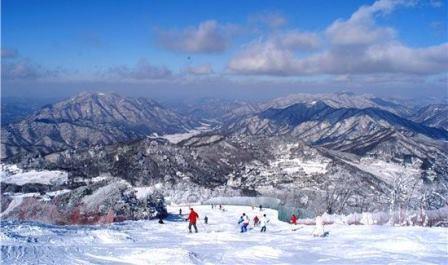 Горнолыжный курорт Muju 무주덕유산리조트
