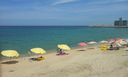 Пляж Анмок 안목해변
