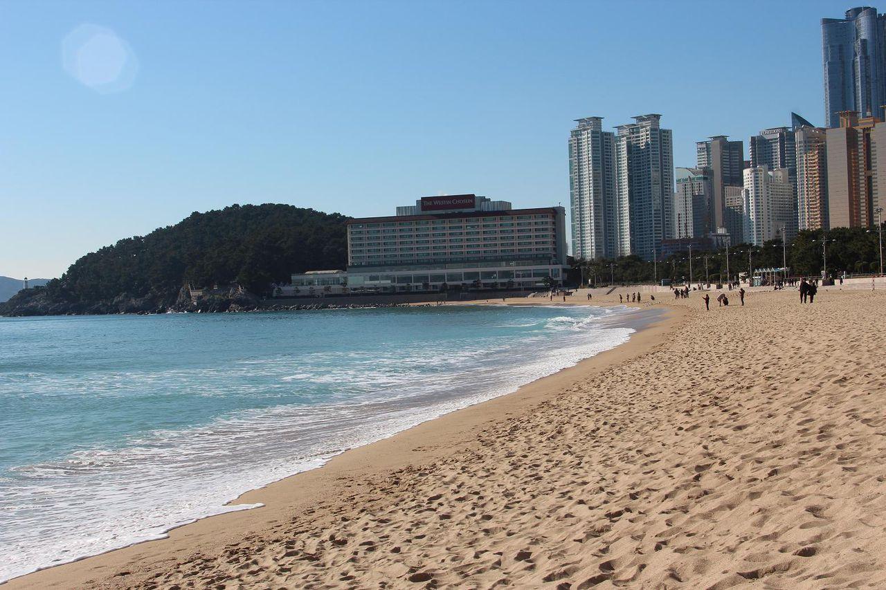 Пляж Хеунде (Пусан) 해운대해수욕장