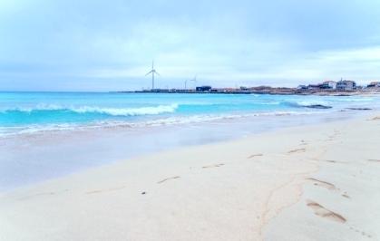 Пляж Хамдок (о. Чечжу) 함덕서우봉해변