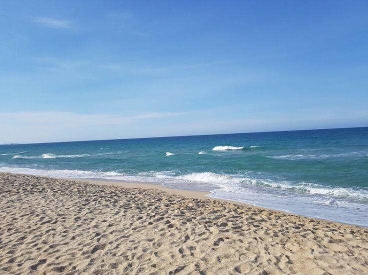 Пляж Кёнпо 경포해변