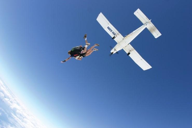 Прыжки с парашютом 스카이다이빙