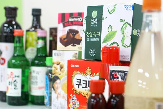 Продукты питания в Южной Корее