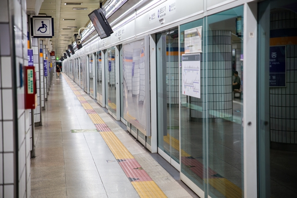 subway in korea