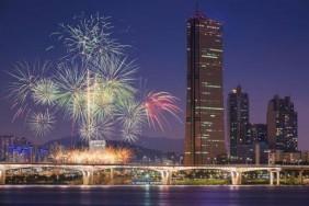 Фестиваль фейерверков в Сеуле