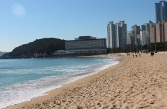 Пляж Хеунде 해운대해수욕장